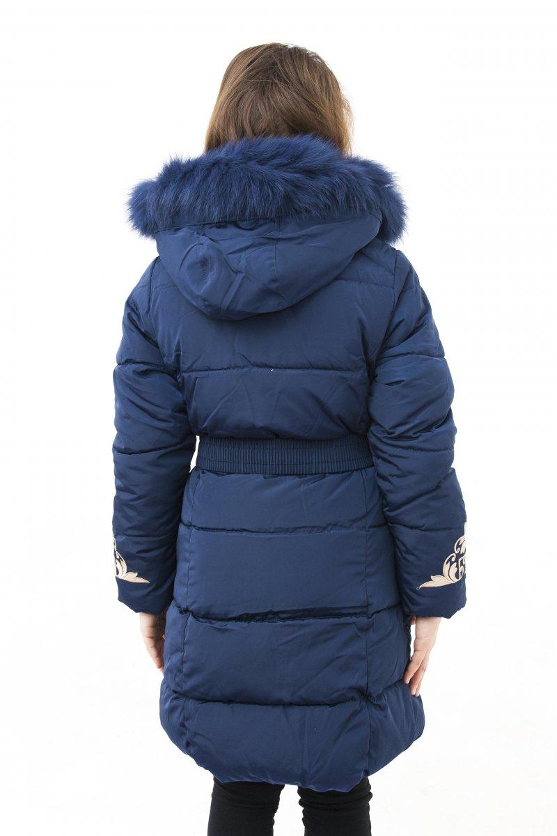 Geci fete groase de iarna 2127 blumarin 128-164cm