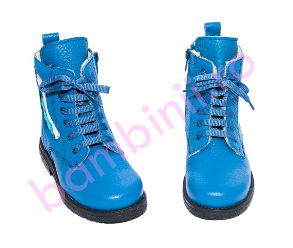 Ghete baieti blana pj shoes King albastru 27-36