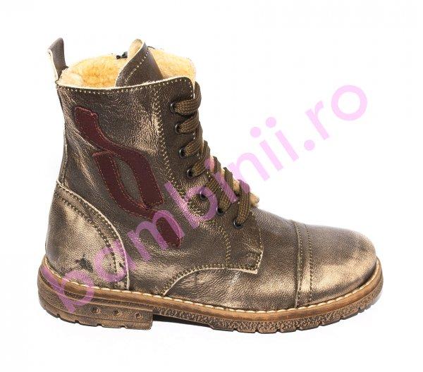 Ghete copii blana pj shoes King kaki 27-36