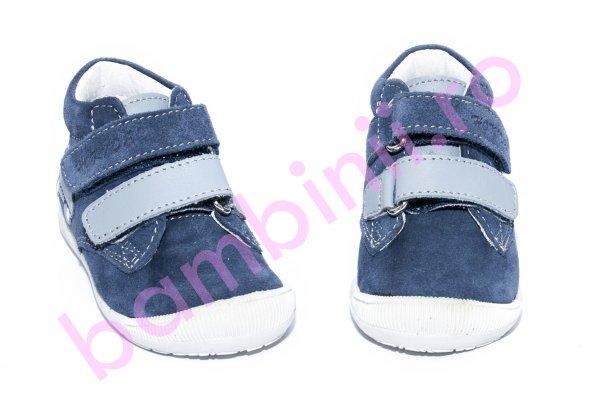 Ghete copii flexibile hokide 380 blu gri 18-24