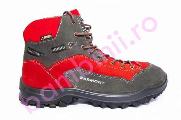 Ghete copii goretex Garmont dragontail rosu gri