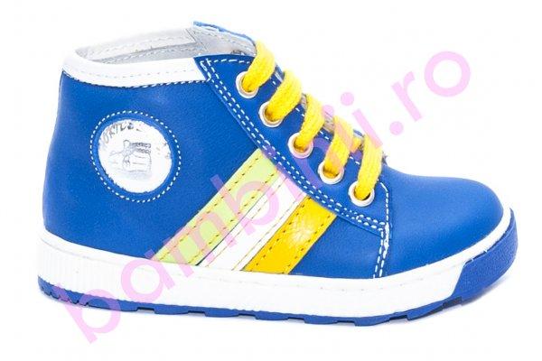 Ghete copii hokide 340 albastru galben 20-25