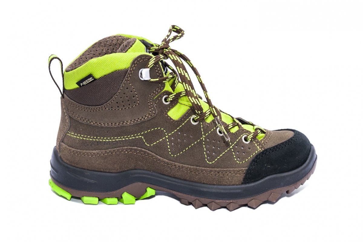 Ghete copii impermeabile Gore-tex Garmont Escape Tour GTX brown verde 26-39