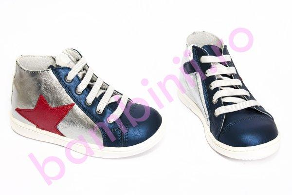 Ghete copii pj shoes Air blu arg 20-26