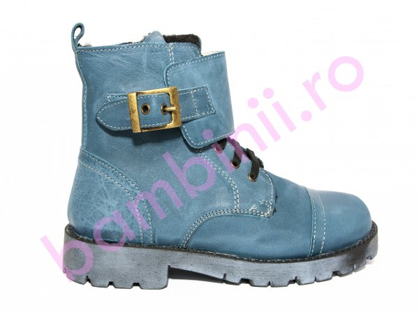 Ghete copii pj shoes Army 2 albastru 31-36