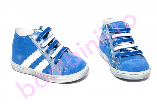 Ghete copii pj shoes Rocky albastru 20-26