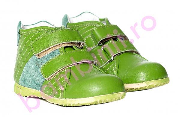 Ghete copii pj shoes Seby verde 20-29