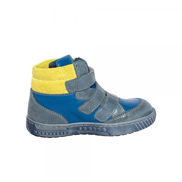 Ghete copii pj shoes pj shoes West albastru verde 20-26
