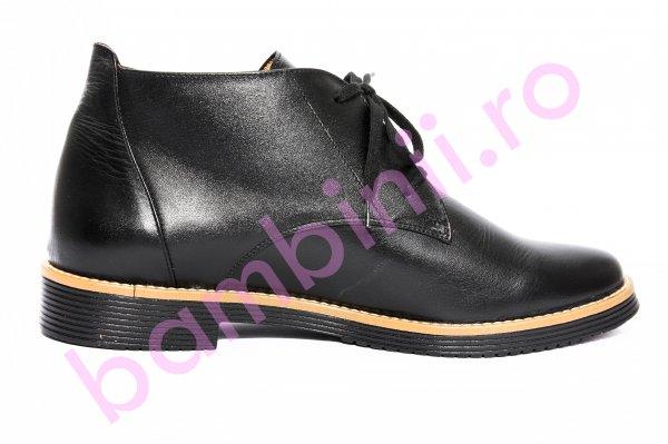 Ghete copii piele 026 T negru 35-41