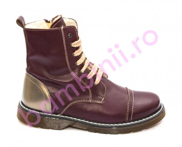 Ghete fete blana King bordo 31-36