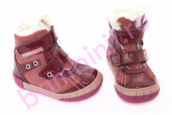 Ghete fete blana pj shoes Kiro bordo 20-29