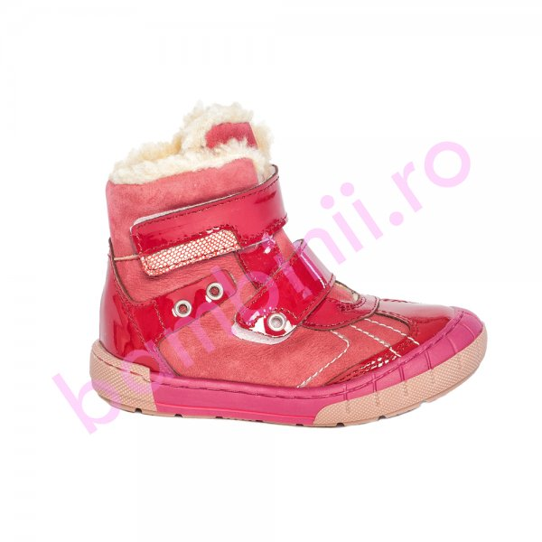 Ghete fete blana pj shoes Kiro fuxia 20-29