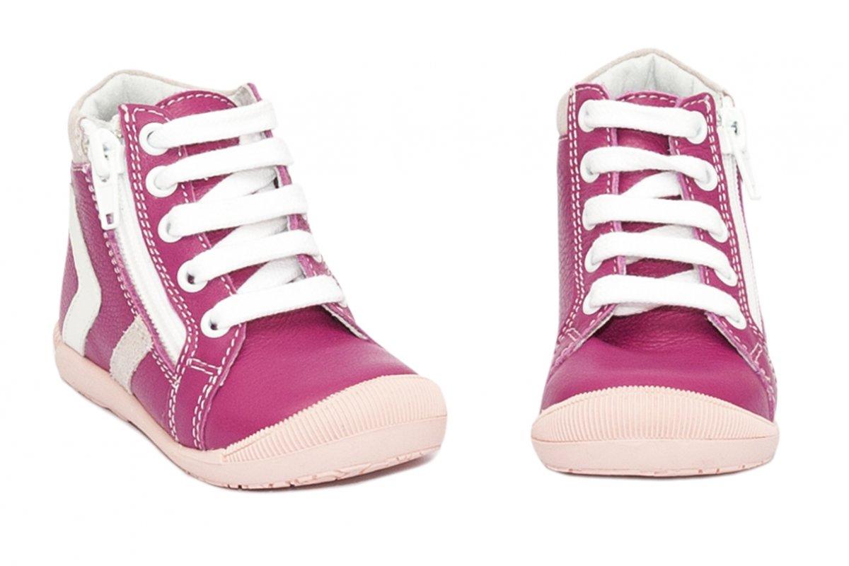 Ghete fete hokide 377 roz fuxia alb 18-24