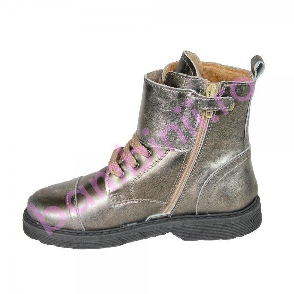 Ghete fete pj shoes Army argintiu 31-36