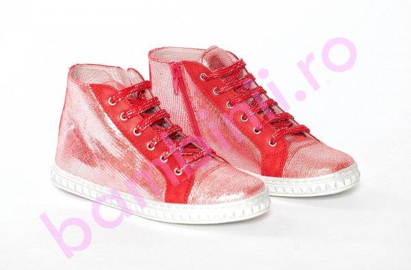 Ghete fete pj shoes Rebel rosu 27-36