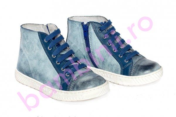 Ghete copii pj shoes Rebel albastru blu 27-36
