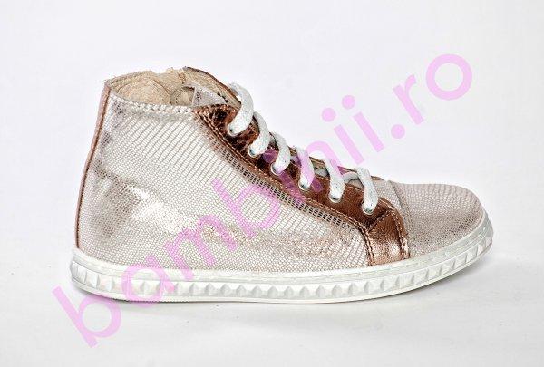 Ghete fete pj shoes Rebel auriu 27-36