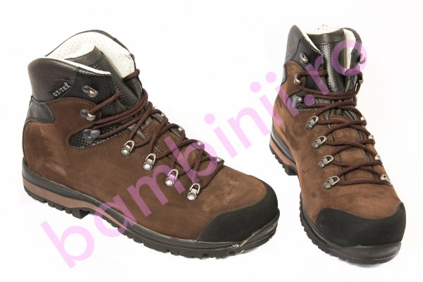 Ghete goretex copii waterproof talpa Vibram Brecon 1330 maro 40-44