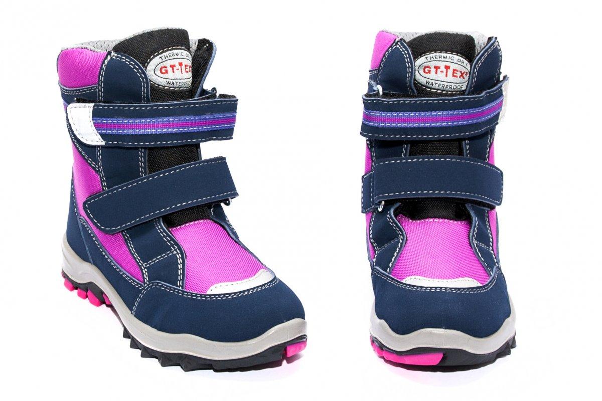 Ghete impermeabile fete gtx 85408 blu roz 26-35