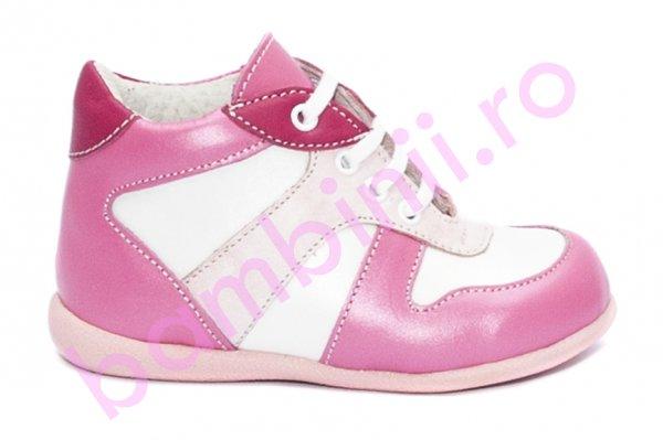 Ghetetute fete hokide 299 roz fuxia alb 18-24