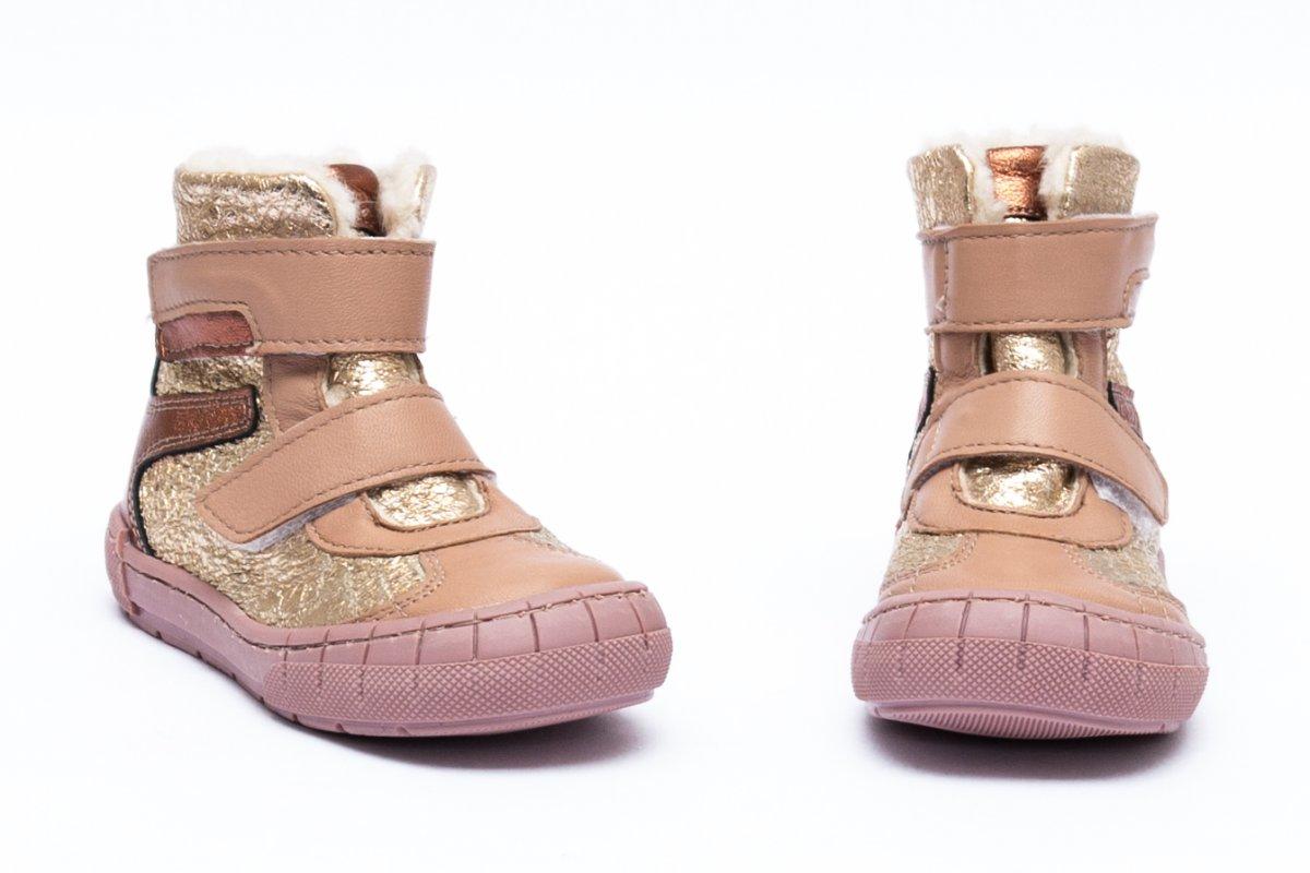 Ghetute blana fete pj shoes Kiro auriu 20-29