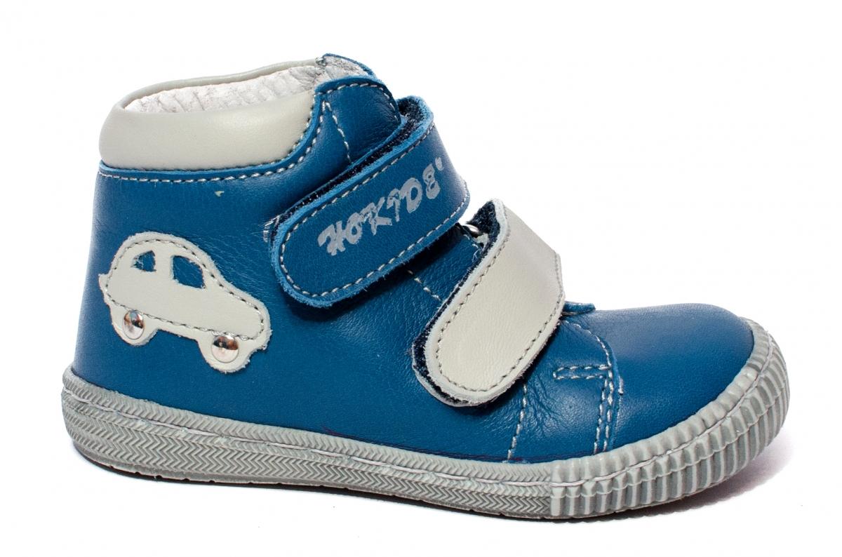 Ghetute copii flexibile hokide 417 albastru gri 18-25