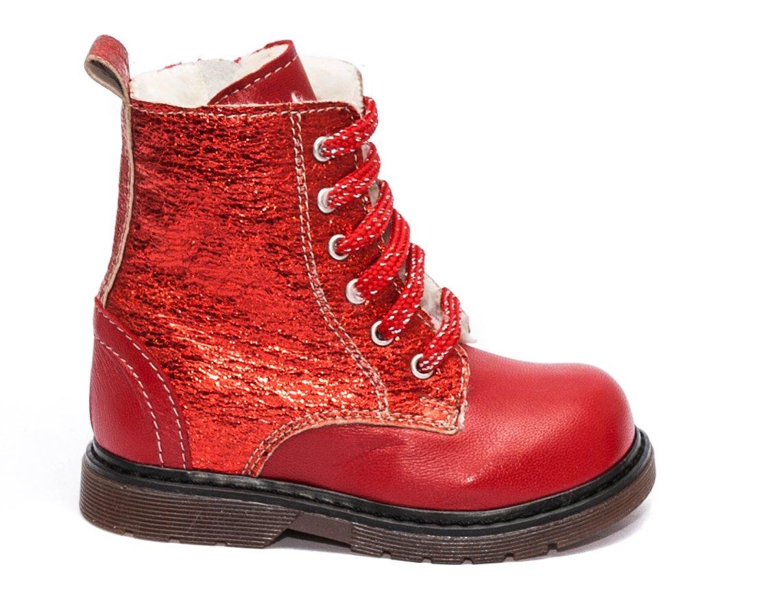 Ghetute fete blana pj shoes King rosu lux 20-26