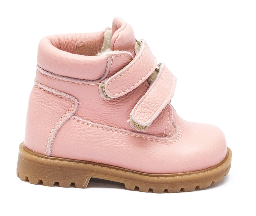 Ghetute fete de iarna cu blana 733 roz 19-25
