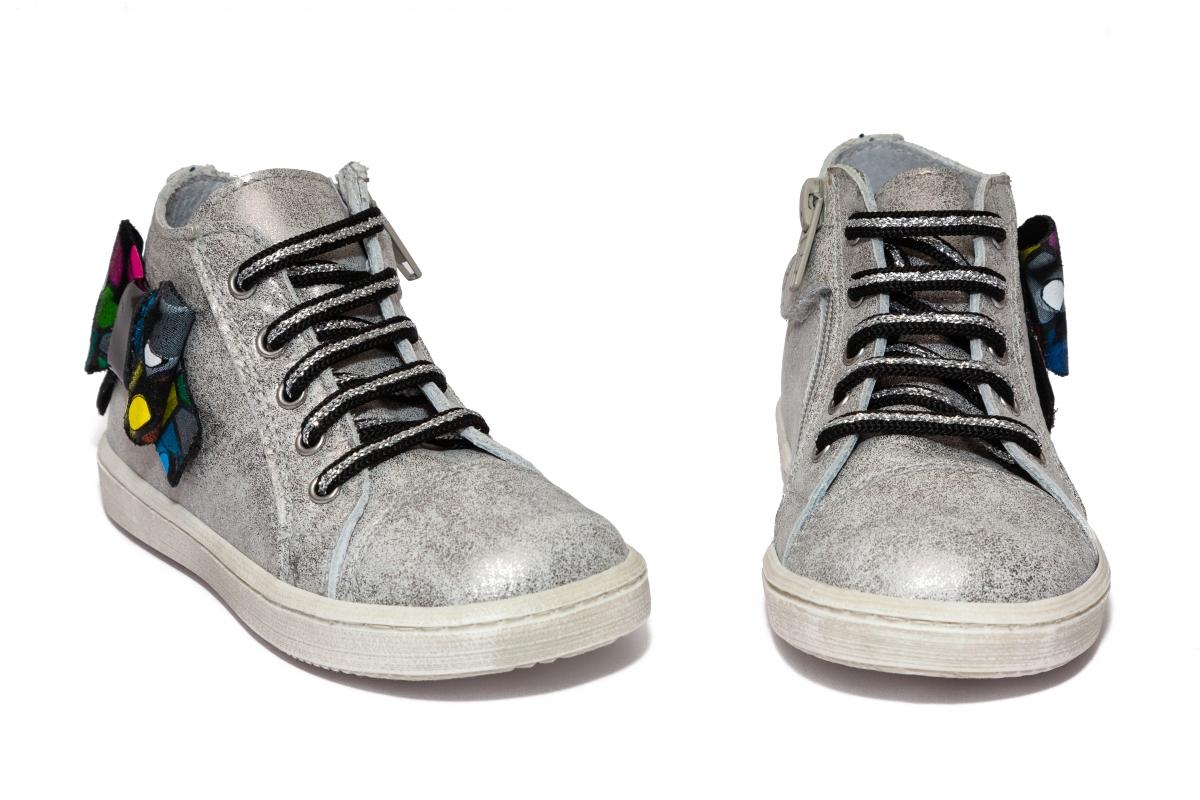 Ghetute fete pj shoes Rocky argintiu pazel 20-26