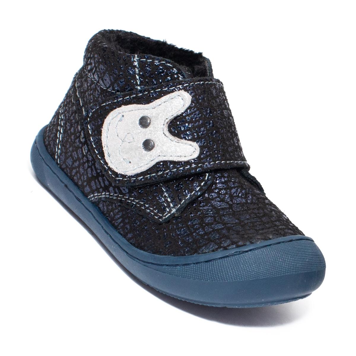 Ghetute flexibile fete vatuite pj shoes Teddy blu lux 20-26