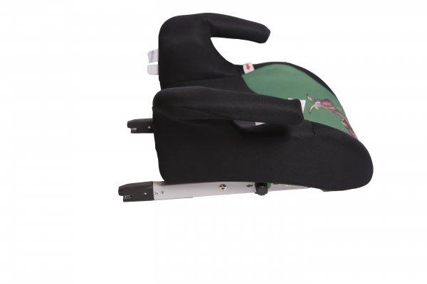 Inaltator auto Booster Isofix verde