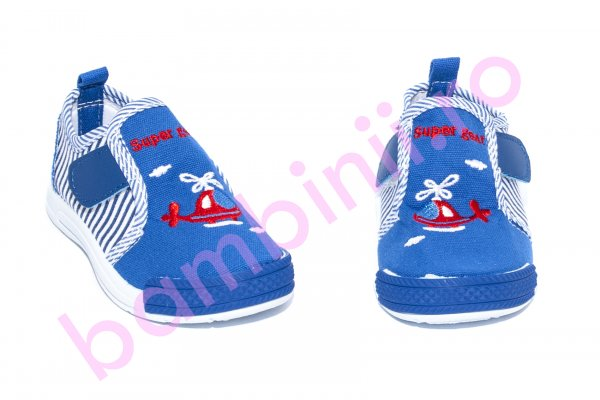 Incaltaminte baietei textil 759 albastru 20-25