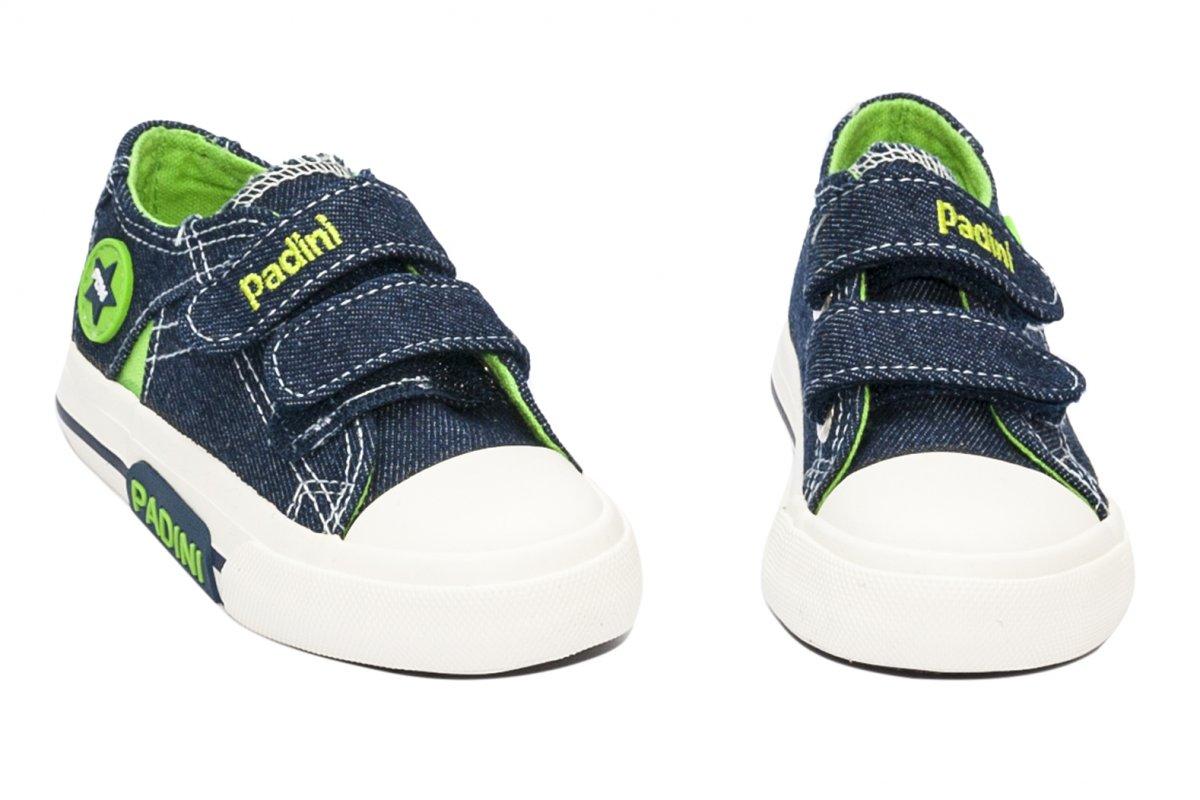 Incaltaminte baieti sport textil 60-5A blu verde 24-35