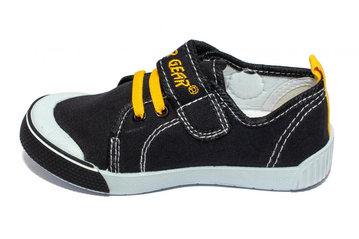 Incaltaminte baieti textil 9962 negru galben 26-31
