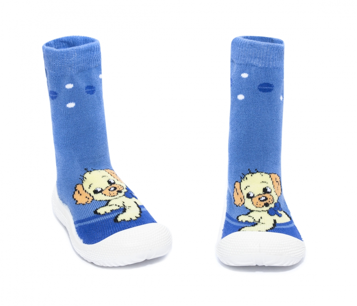 Incaltaminte copii de interior flexibila catel albastru 22-30
