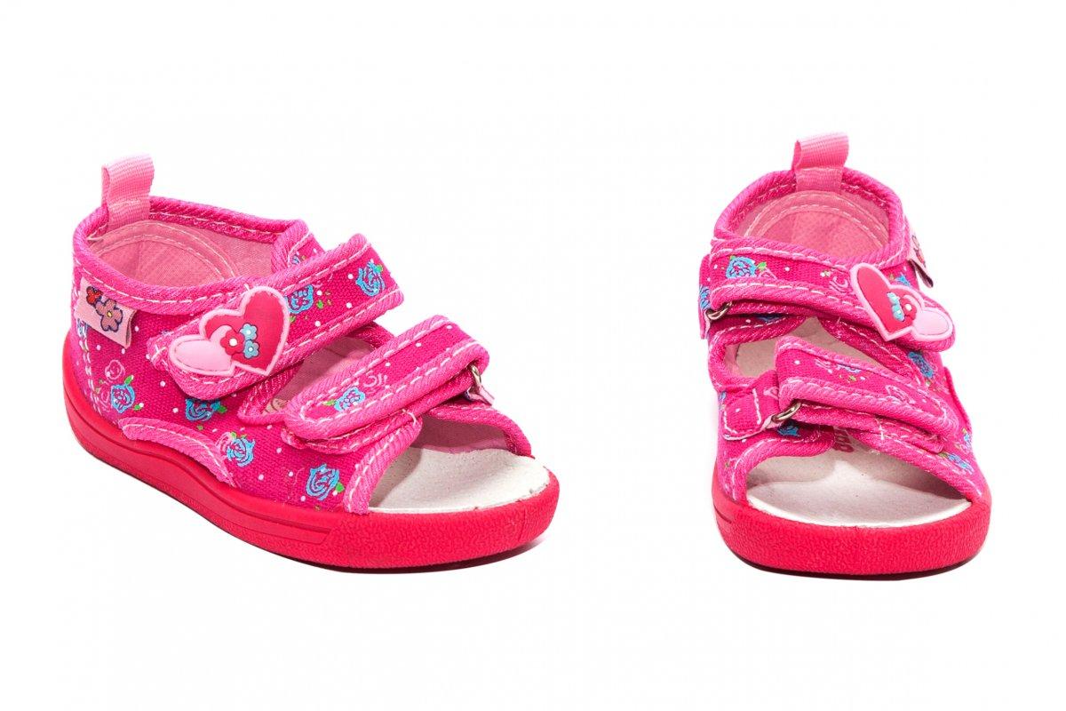Incaltaminte fete flexibila brant din piele 1230 fuxia roz 20-25