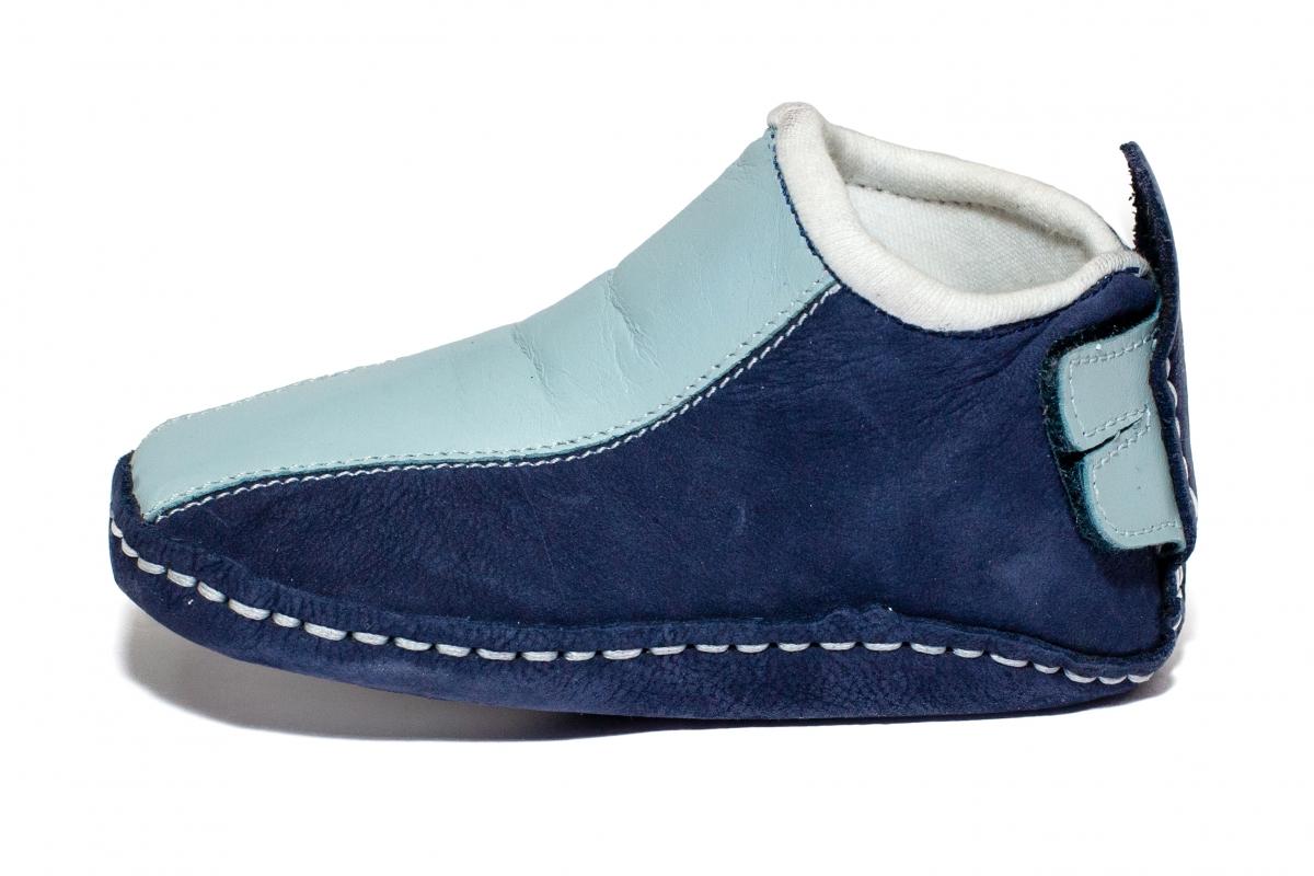 Incaltaminte fexibila baieti interior Gradi 25302 blu bleu 20-29