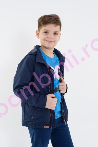 Jacheta baieti Glo Story 1500 blu 98-128cm