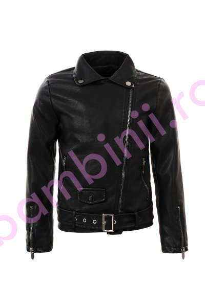 Jachete fete Glo-Story 3349 negru 134-164