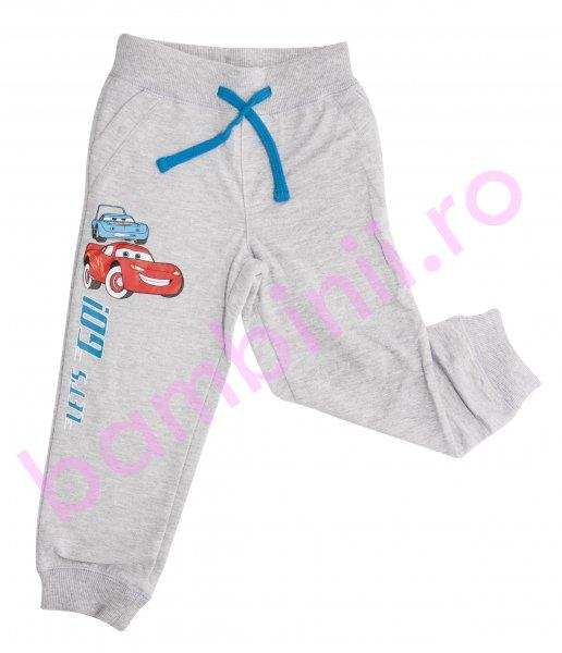 Pantaloni baieti 1003 cars gri 98-134