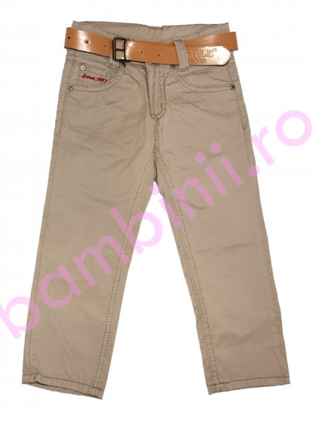 Pantaloni baieti 8076 cafe