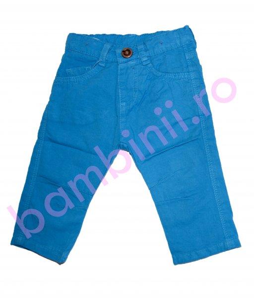 Pantaloni baieti 8078 albastru