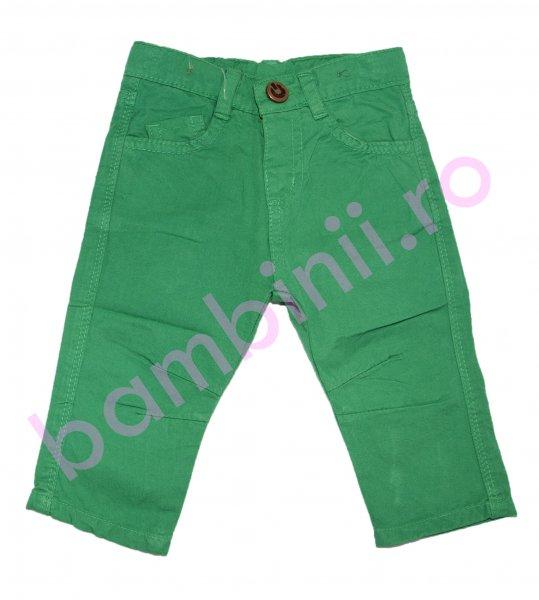 Pantaloni baieti 8078 verde