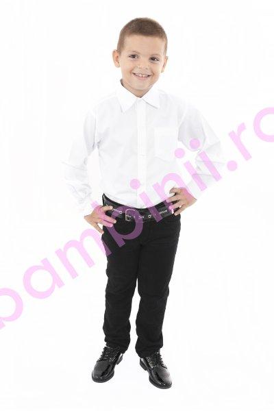 Pantaloni baieti 924 negru 5-11ani