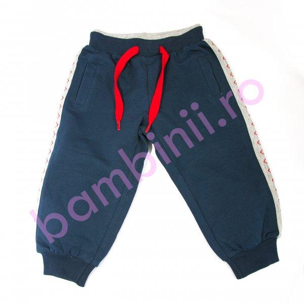 Pantaloni copii 3641 albastru 80-104cm