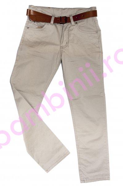 Pantaloni copii 7985 bej 3-9ani