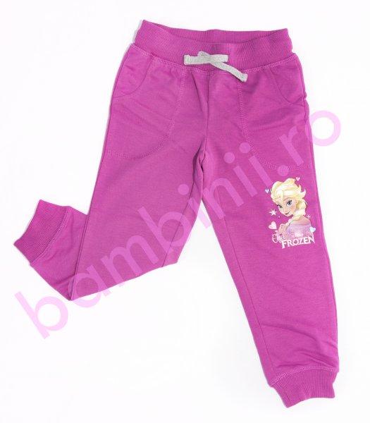 Pantaloni fete Frozen 1002 fuxia 98-134