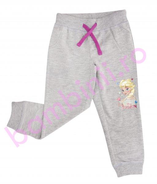 Pantaloni fete Frozen 1002 gri 98-134