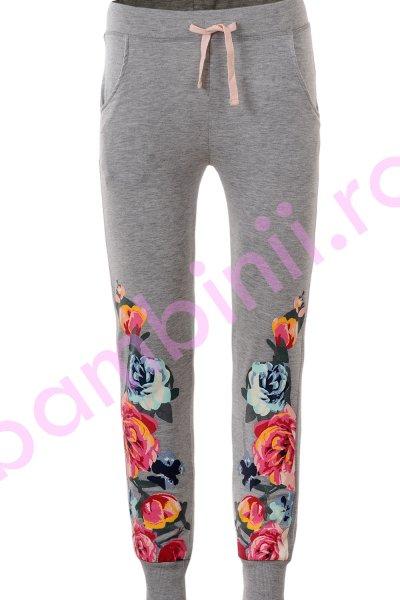 Pantaloni fete Glo-Story 2698 gri 98-128
