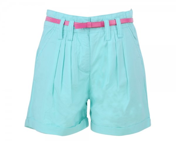Pantaloni fete scurti 8194 fuxia 96-146